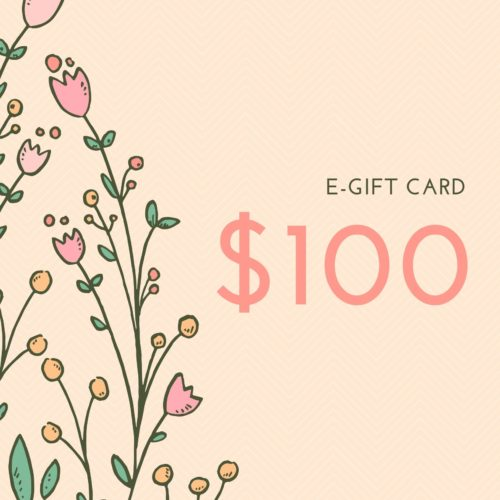 $100 E-gift Card for Wedding Shoes