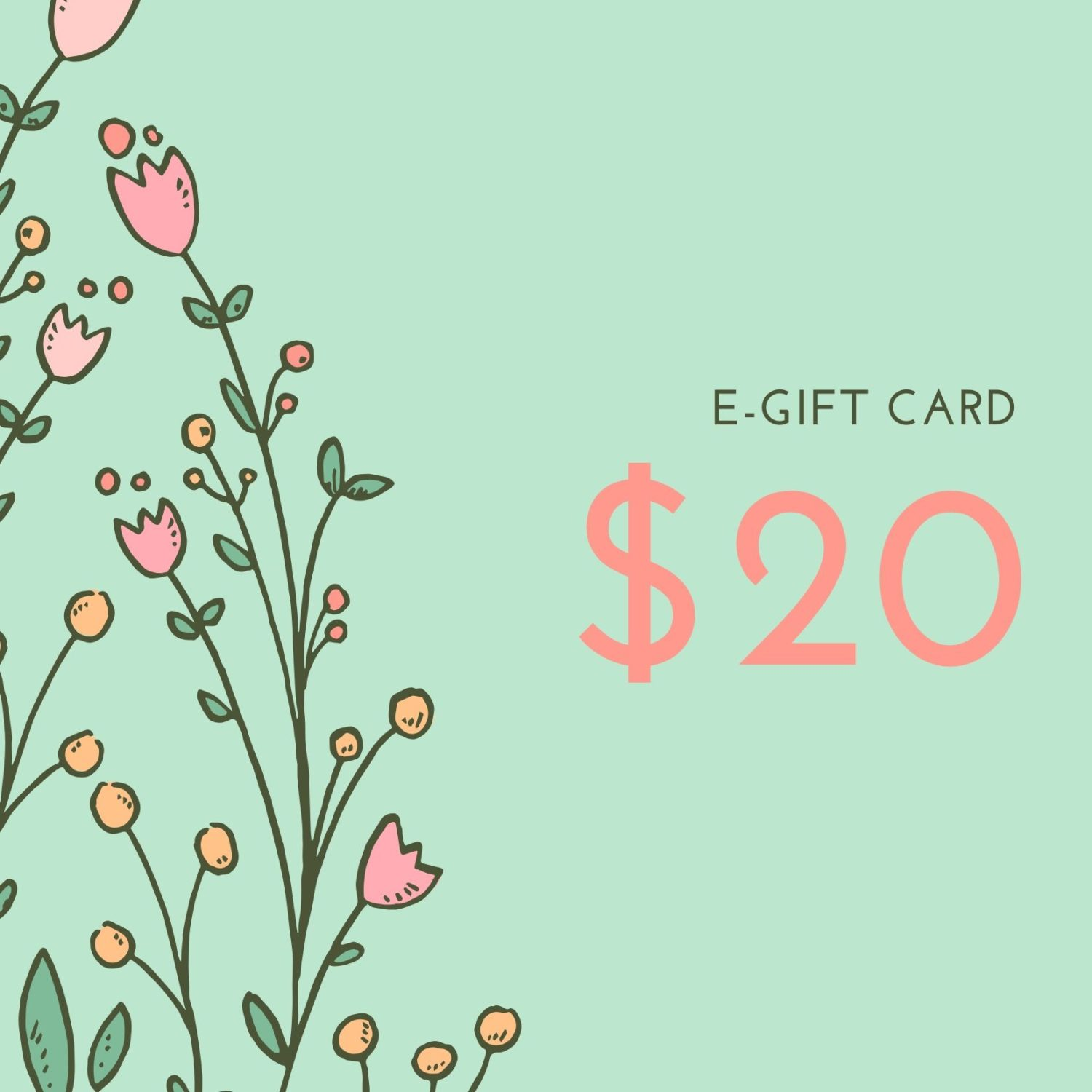 $20 E-gift Card for Wedding Shoes
