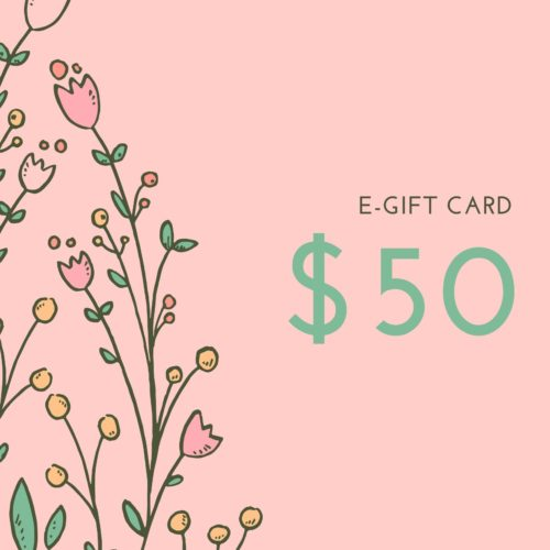 $50 E-gift Card for Wedding Shoes